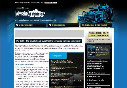 International Armoured Vehicles Conference Homepage