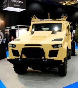 OshKosh Vehicle at IAVs