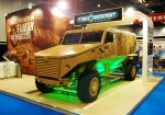 Force Protection at International Armoured Vehicles 2011