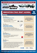 Innovation Stage Agenda